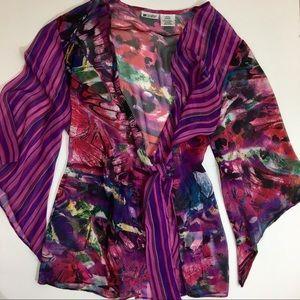 Units Kimono Wrap Blouse
